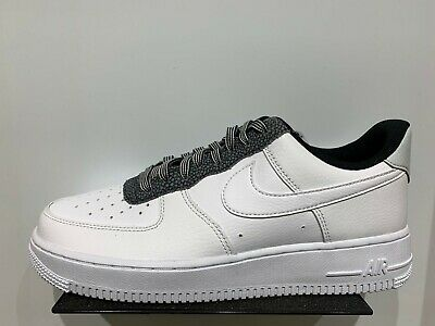 Nike Air Force 1 07 LV8 4 AF1 blanc Cool Gris Platine Taille 8 13 NEUF CK4363 100 | eBay