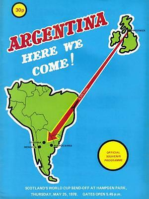 ITV UK EDITION * 1978 WORLD CUP FINALS TOURNAMENT PROGRAMME *