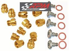 Holley Carburetor 2240 MAIN JETS KIT 50-109 ANY SIZE 20 PACK & 5 POWER VALVES