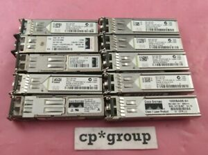 LOT OF 4 Genuine Cisco GLC-SX-MM 1000Base-SX Transceiver Module