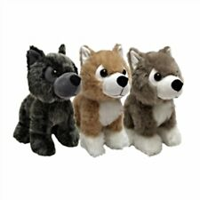 "Game of Thrones 9"" Plush Direwolf Dire Wolf Shaggydog Nymeria Lady Cub Set of 3"