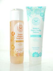 The Honest Company Shampoo Body Wash Sweet Orange Vanilla 10oz Body Lotion 8 Ebay