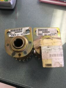 Two Aa35645 Bearing With Sprocket For John Deere 1710 1780 7200 7300
