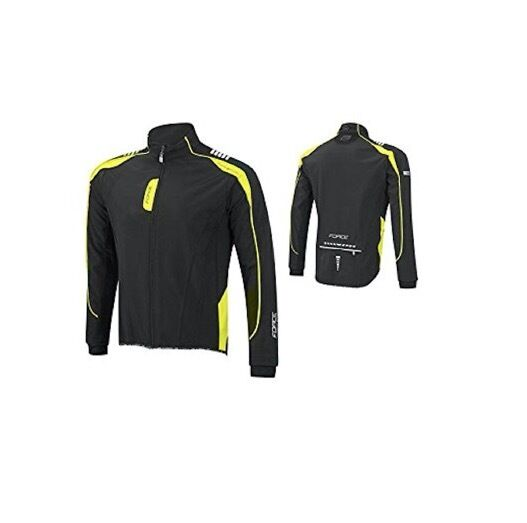 GIACCA FORCE X72 JACKET SOFTSHELL Coloreeee NEROGItuttiO FLUO taglia XL