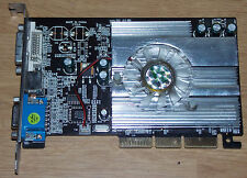 NVIDIA Geforce FX 5500 256MB DDR Grafikkarte 8x AGP DVI VGA TV graphic card
