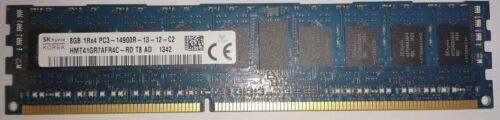 Dell SK Hynix 8GB 1X8GB PC314900R DDR3 1RX4 ECC Server Memory Ram T0F69