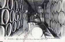 CPA 21 BEAUNE -maison Bouchard - Une cave à vins- (cpa commerce de vin