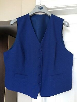 Bnwot Dcc Woman's Blue Waistcoat Size 24 Clothing, Shoes & Accessories Other Women's Clothing