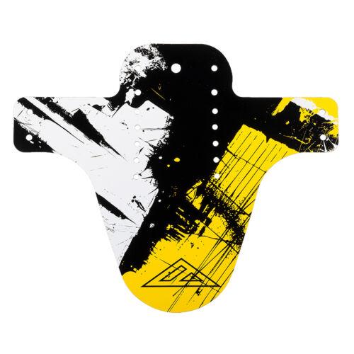 Azonic Splatter Fender Schutzblech Shocker schwarz//neon gelb