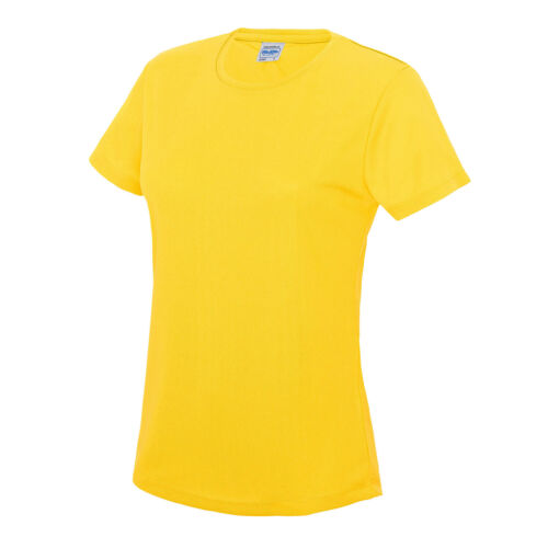 AWDis T-shirt femme Wickable UPF Protection Soleil Sport Gym Course Summer Tee