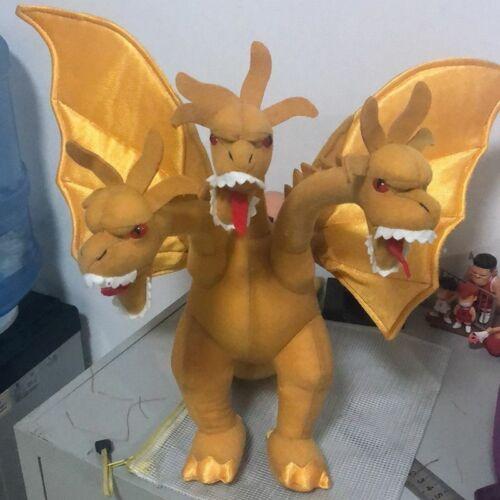 Godzilla Movie King Ghidorah Soft Plush Doll Stuffed Kids Best Xmas Gift 16/'/'
