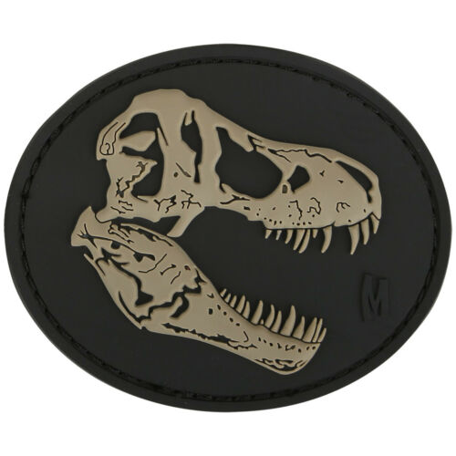 Maxpedition T-Rex Tyrannosaurus Skull Morale Patch 3D Rubber Badge SWAT