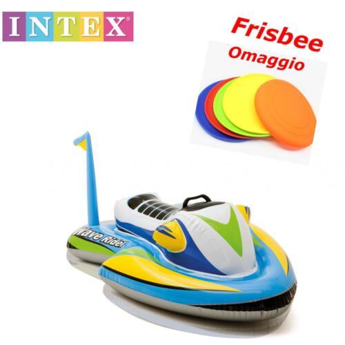frisbee OMAGGIO MATERASSINO MARE Cavalcabile acqua scooter Intex