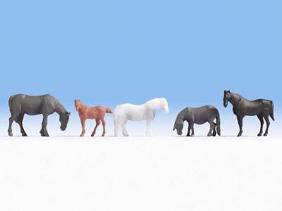 Noch 18215 Scala H0, Figure Cavallo # Nuovo In Confezione Originale ##