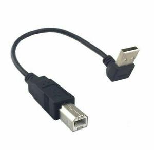 20cm-hasta-90-Grados-en-Angulo-USB-2-0-macho-a-macho-Cable-de-Tipo-B-Para-Impresora-Escaner