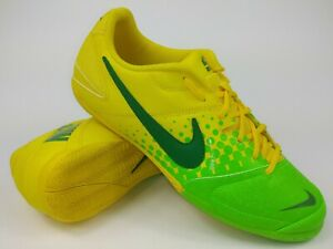 fb20dccef Nike Mens Nike5 Elastico 415131-733 Yellow Green Indoor Soccer Shoes ...
