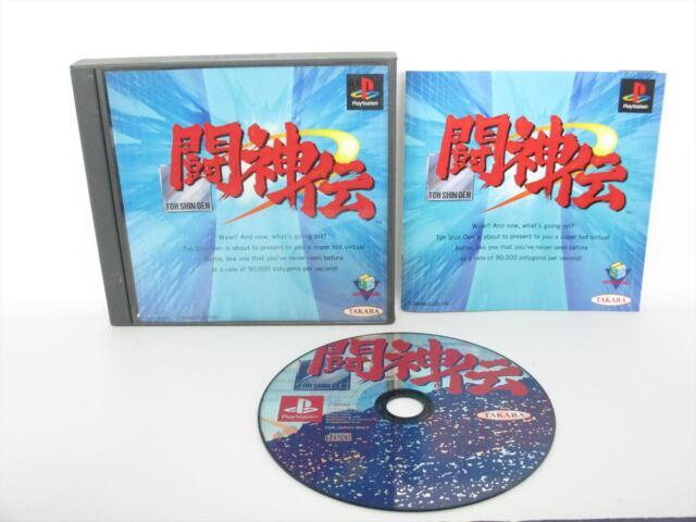 Toh Shin den 1 Toshinden PS1 Playstation Ps Takara Japanisches Spiel p1