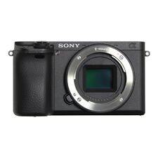 Sony Alpha ILCE-6500 24.2MP Digital SLR Camera - Black (Body Only)