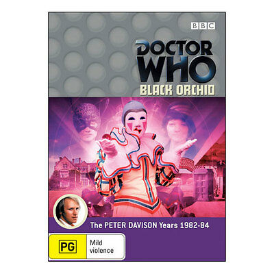 Doctor Who: Black Orchid DVD  Brand New - Aus Region 4 - Peter Davison Dr Who