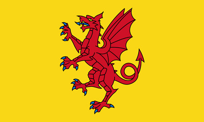 5ft x 3ft 100d Dorset County Flag of Dorset Flags for Sale West Country Seller