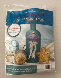 Herrschners Ornament Of The Month Kit Under The Sea Opened