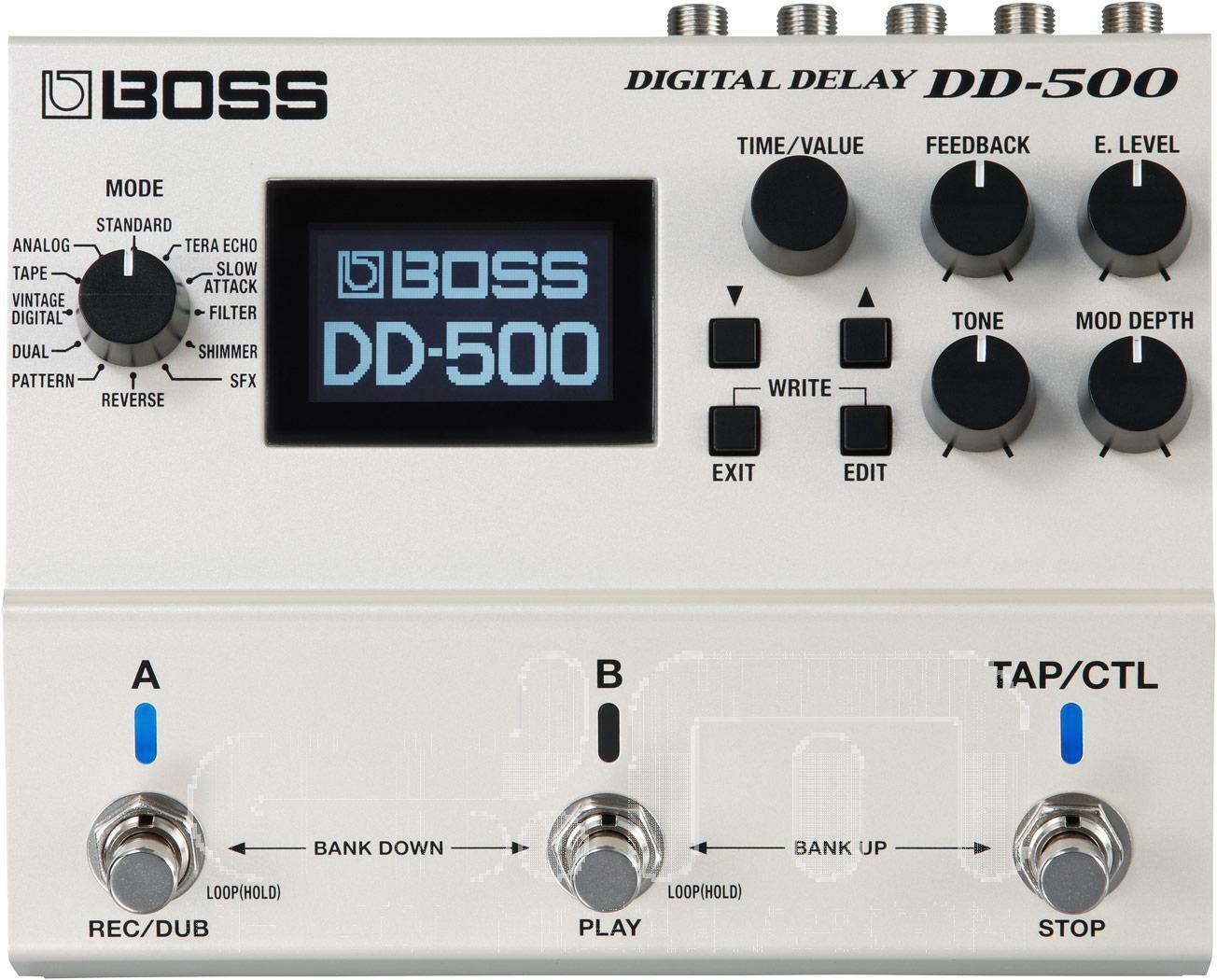 Boss DD-500 Delay   Effect Pedal   NEW
