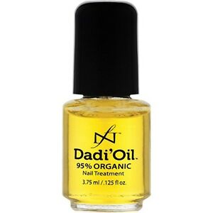 Dadi Oil Nail Treatment Oil For Dry Brittle Nails 95% Certified Organic Oils UK