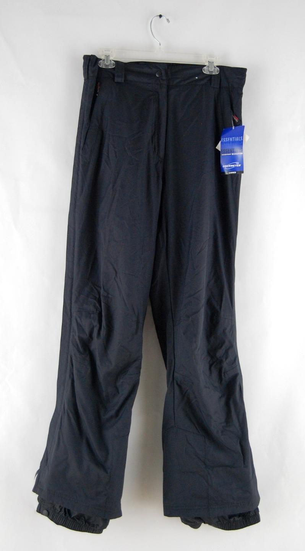 Para Dama Obermeyer Alta II Pantalones Aislamiento Cremallera Negro