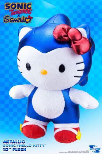 SDCC 2017 Toynami Metallic Sonic Hello Kitty Deluxe Plush