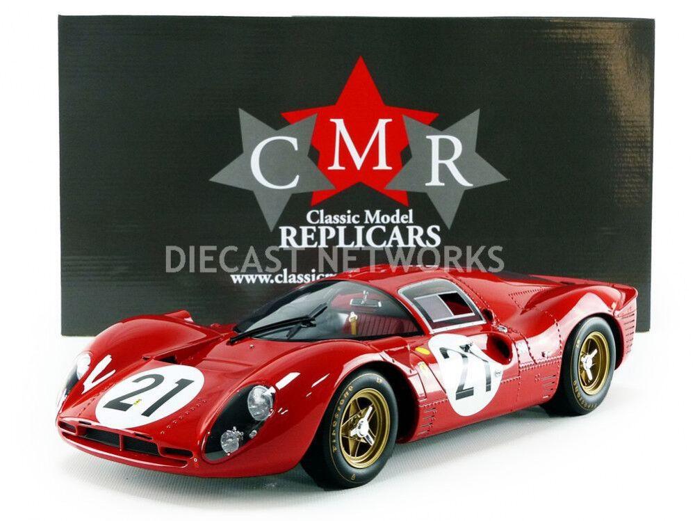 CMR Ferrari 330 P4 Edición Limitada Mans 1967 Scarfiotti Parkes escala  12 Nuevo  en Stock