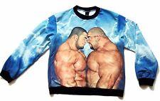 GAY bear sweatshirt marriage xl cartoon guy art bdsm prop 8 male nude fat chubby