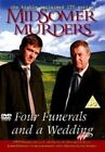 Midsomer Murders Four Funerals and a Wedding 5036193094507 With John Nettles