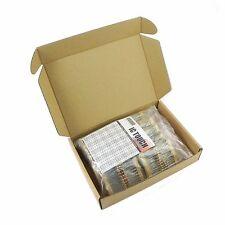 100value 1000pcs 1/2W Carbon Film Resistor Assortment Box Kit KIT0126
