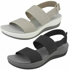 72daa98daaff item 1 Ladies Clarks Cloudsteppers Arla Jacory Black Or Sand Textile Sandals  D Fitting -Ladies Clarks Cloudsteppers Arla Jacory Black Or Sand Textile ...