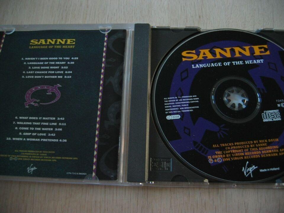 Sanne Salomonsen: Language of the Heart, pop