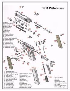 1911 45 ACP PISTOL DIAGRAM POSTER PICTURE BANNER GUN schematic ...  Schematic on remington 121 schematic, m16 schematic, sig sauer mosquito parts schematic, power supply schematic, fal schematic, kel-tec p3at schematic, kel-tec pf-9 schematic, walther ppk schematic, switch schematic, 2011 pistol schematic, benelli m2 schematic, benelli m4 schematic, hydraulic schematic, 1903 springfield schematic, transistor schematic, beretta 92fs breakdown schematic, rpd schematic, kimber schematic, ar-15 schematic, relay schematic,