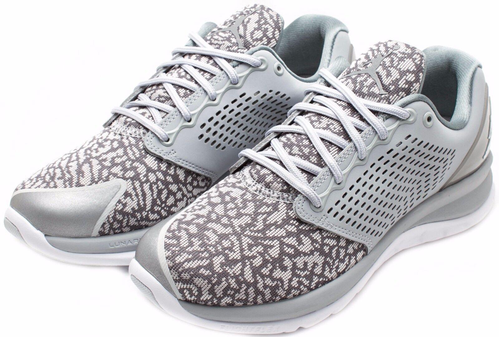 Nike Air Jordan Trainer ST Training Shoes 820253-003 White/Grey Sz 8 9 Scarpe classiche da uomo