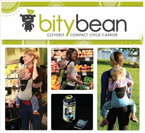 Bitybean Ultracompact Baby Carrier Lime Green