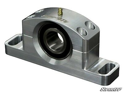 Self Aligning and Greaseable! MAX 2016+ SuperATV Heavy Duty Billet Aluminum Carrier Bearing for Can-Am Maverick X3
