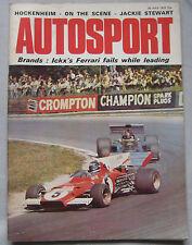 Autosport July 20th 1972 *Lotus Europa TC Road Test & British Grand Prix*