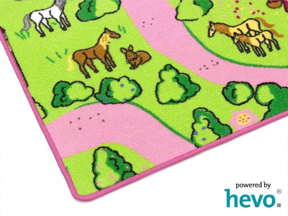 Märchenland HEVO ® Teppich   Spielteppich     Kinderteppich 200 cm Ø Rund | Neues Produkt  9e2168