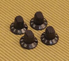 005-1018-049 (4) D-Shaft Fender Brown Acoustasonic Amplifier Amp Knobs '98-'04