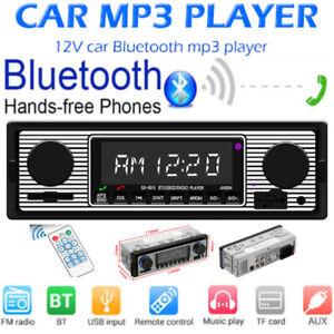 Single-1Din-Car-Stereo-MP3-Player-FM-Radio-Bluetooth-4-0-USB-AUX-TF-Head-Unit