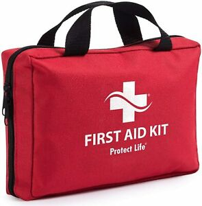 Emergency-First-Aid-Medical-Trauma-Kit-Camping-Travel-Survival-Prep-200-Pieces
