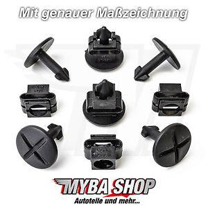 5x-SET-MOTORSCHUTZ-UNTERFAHRSCHUTZ-CLIPS-AUDI-A4-A6-UND-VW-PASSAT-SEAT-SKODA-NEU