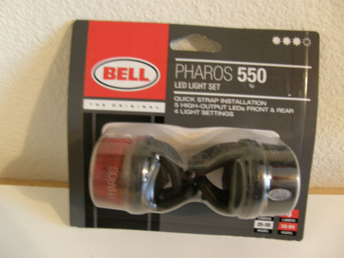 Bell Pharos 550 Led Bicycle Light Set ~ New  035011939193