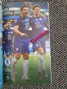 Chelsea-v-Wolves-Wolverhampton-LIMITED-COLLECTOR-039-S-EDITION-Programme-26-7-2020