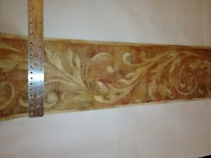 Crown molding scroll style prepasted wallpaper border wt1053b ebay - Crown molding wallpaper ...