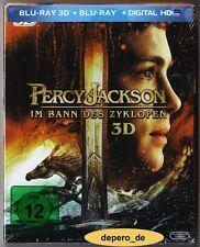 """""""PERCY JACKSON: IM BANN DES ZYKLOPEN"""" - Fantasy - 3D + 2D BLU RAY im Pappschuber"""