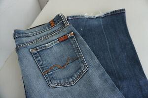 7-for-all-Mankind-Damen-Jeans-stretch-Hose-28-32-W28-L32-used-blau-TOP-ad5